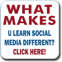 What makes U Learn Social Media different?
